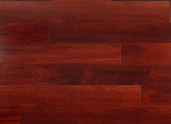 Cherry Mahogany Distressed Solid Hardwood